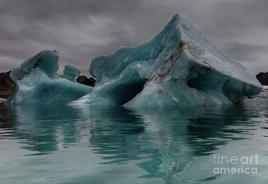 Floating Ice by Patti Schulze