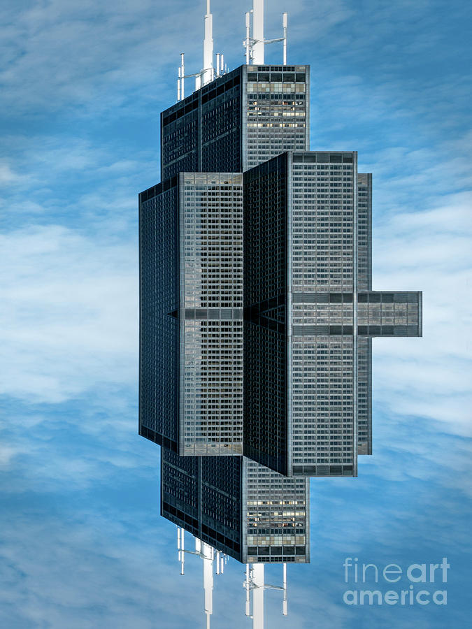 Floating Sears Tower by Izet Kapetanovic