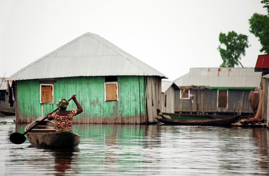 Flood Photograph by Peeterv