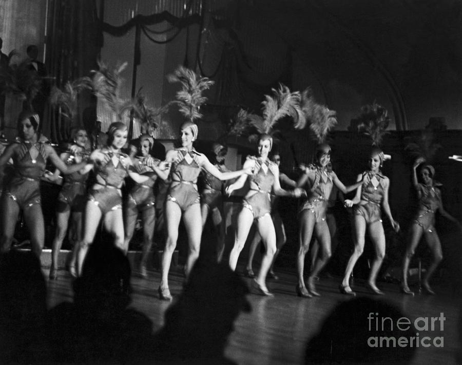 Floor Show From The Cotton Club Photograph by Bettmann