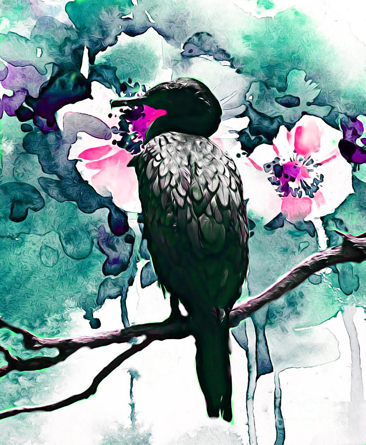 Floral Admirer by Trudee Hunter