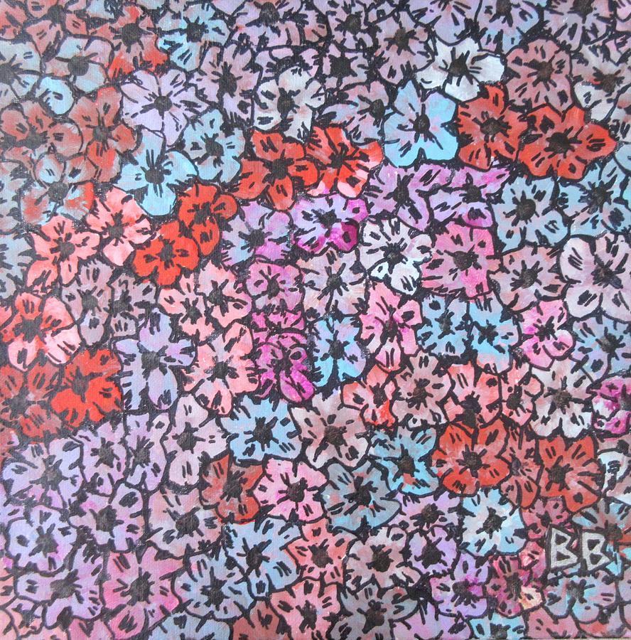 Floral Carpet #3 by Bradley Boug