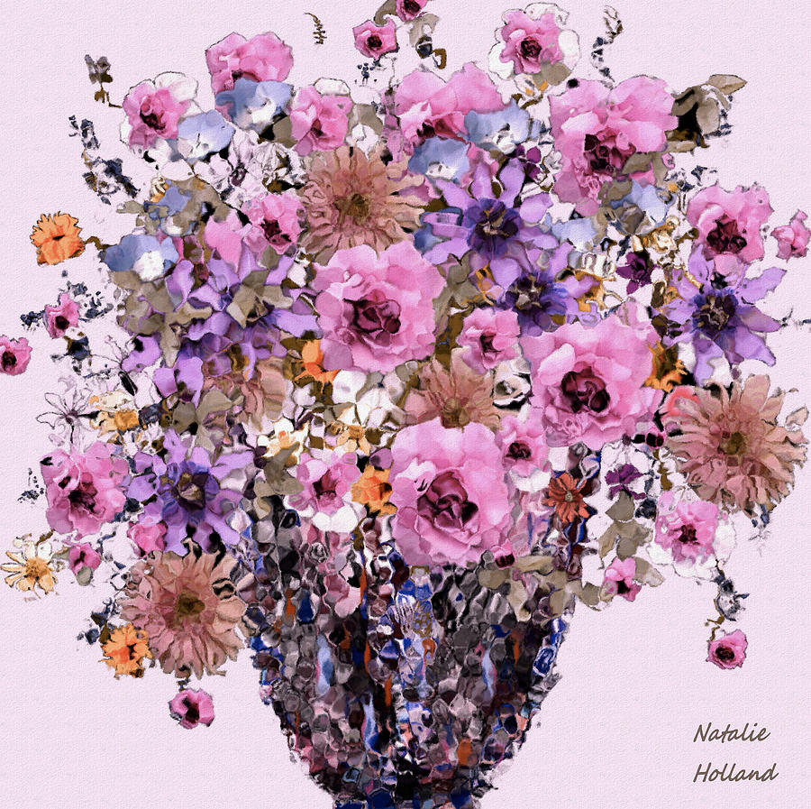 Floral Display by Natalie Holland