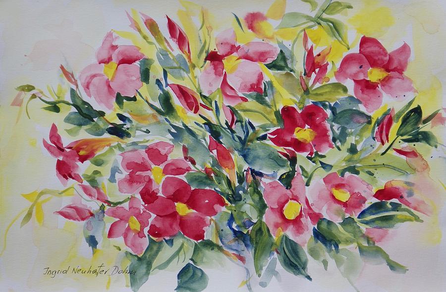 Floral I by Ingrid Dohm