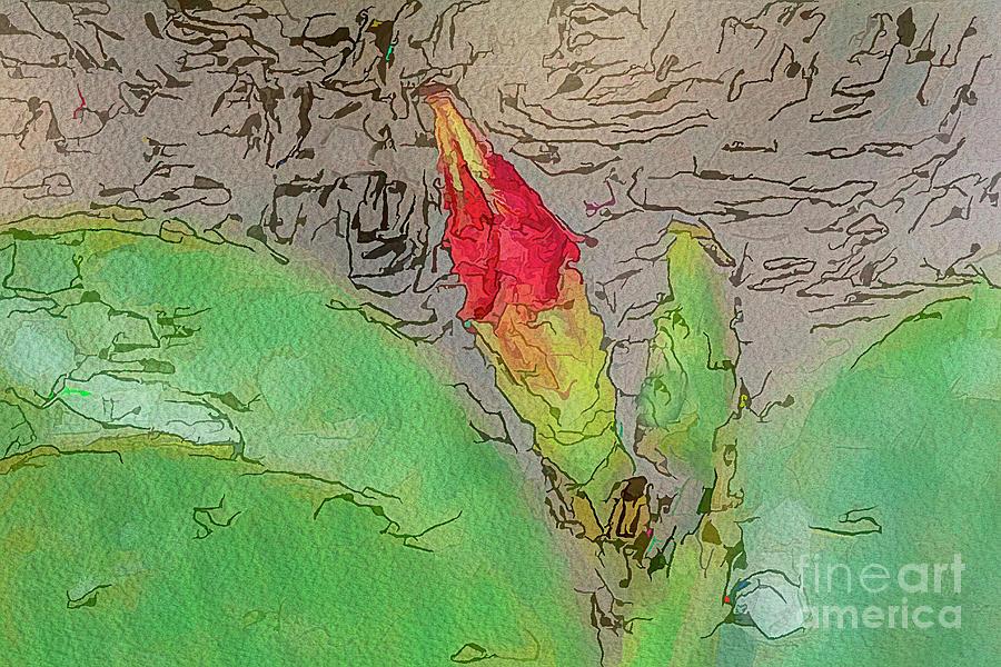 Floral Ink by Deborah Benoit