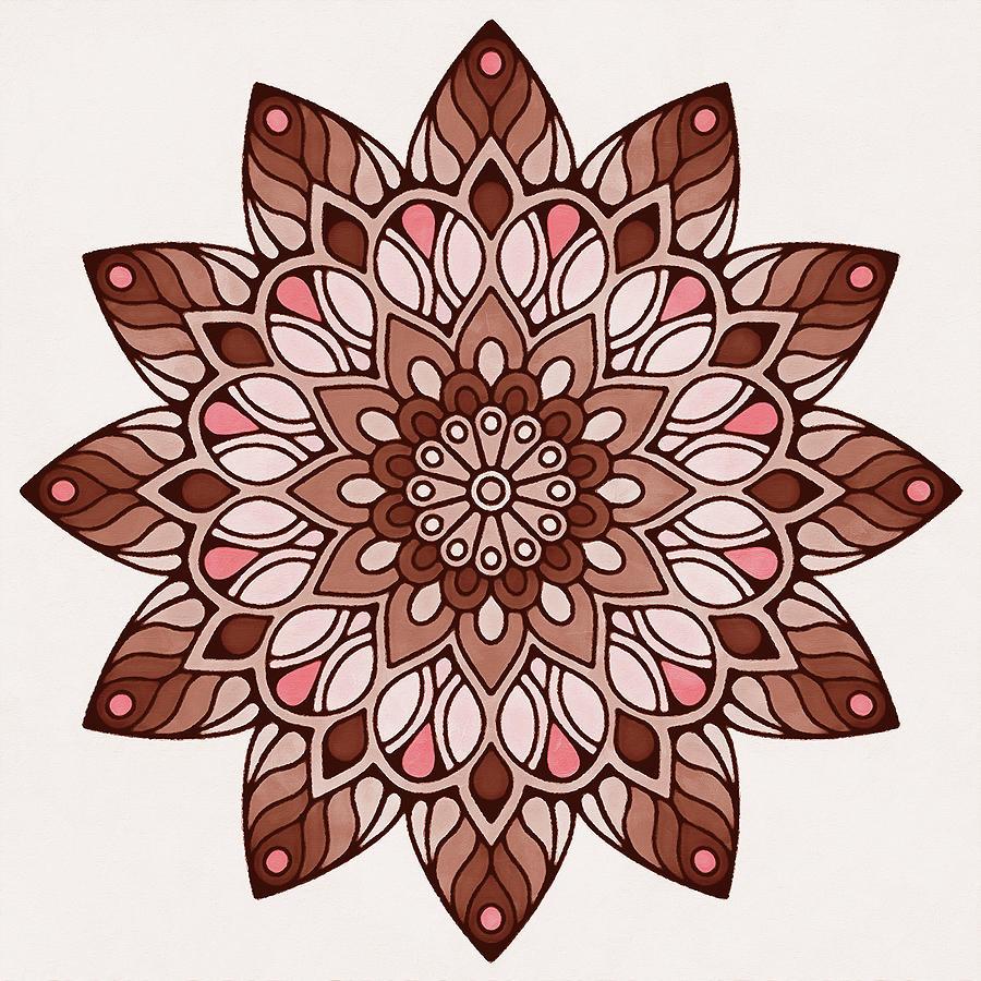 Floral Mandala - 07 by Andrea Mazzocchetti