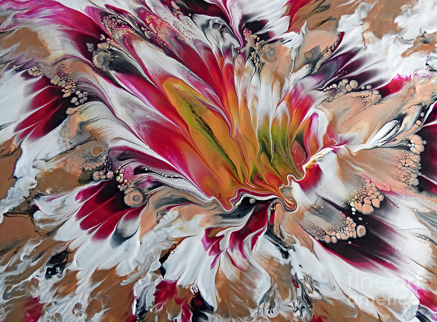 Floral Melody #1 by Trudee Hunter