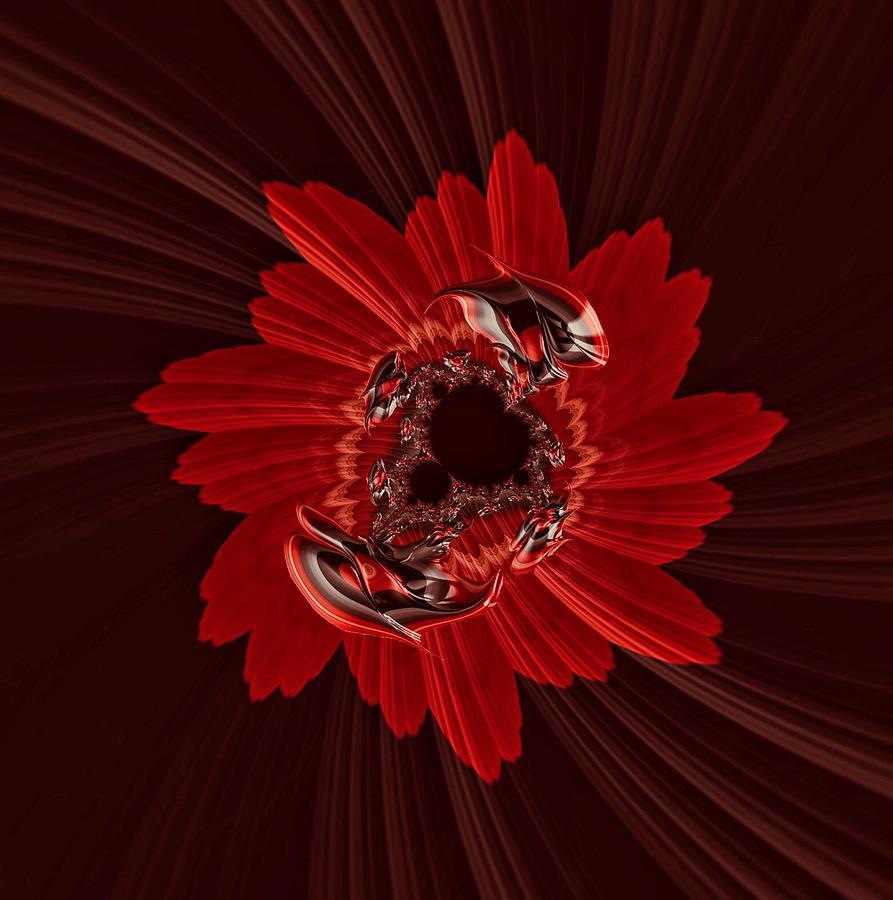 Floral Swirl by Doris Aguirre