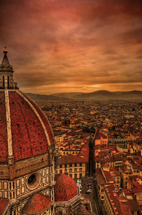 Florence Duomo At Sunset Photograph by Mcdonald P. Mirabile