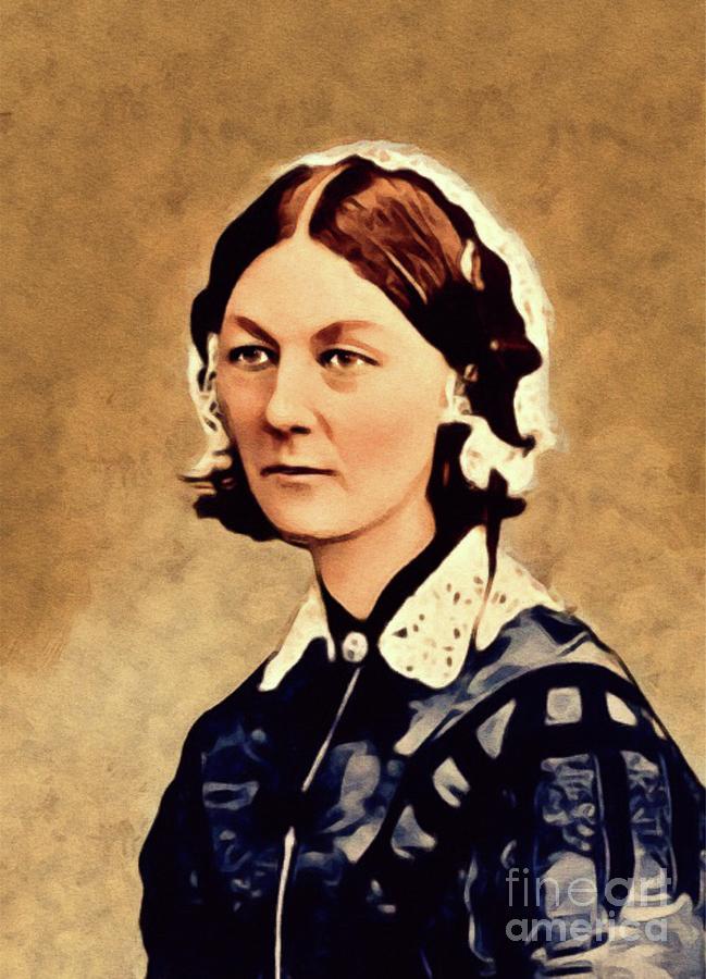 ae7313b1c9bf5 Florence Nightingale, Legend Painting by John Springfield