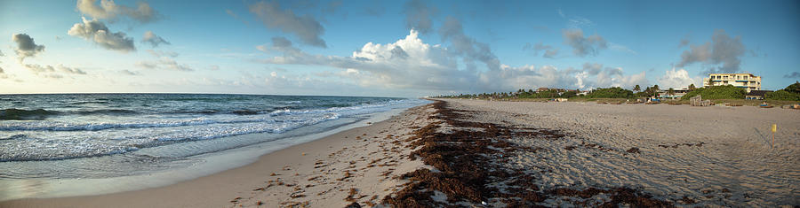 Florida Beach With Gentle Waves And Photograph by Drnadig