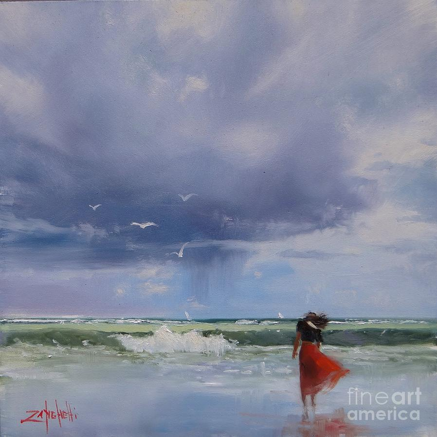 Florida Painting - Florida Breeze by Laura Lee Zanghetti