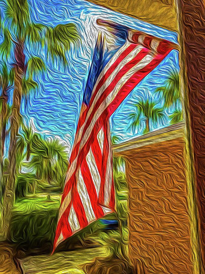 Florida Day and Flag by Dimitris Sivyllis