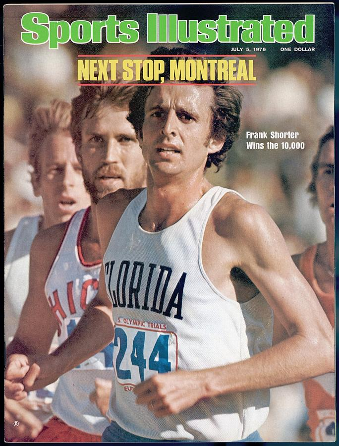 Florida Frank Shorter, 1976 Us Olympic Trials Sports Illustrated Cover Photograph by Sports Illustrated
