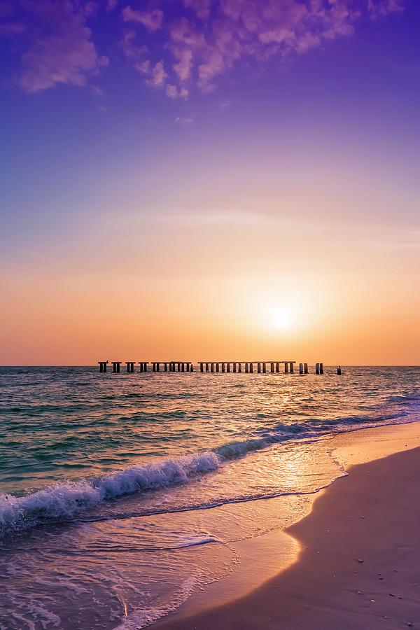 Florida Photograph - Florida Gasparilla Island Sunset by Melanie Viola