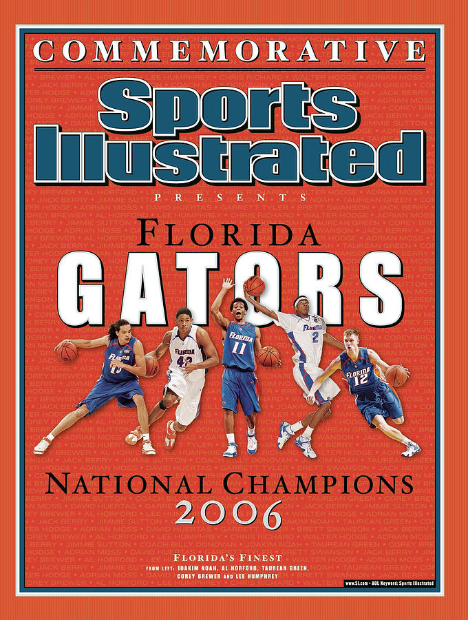 Florida Gators Commemorative Sports Illustrated Cover Photograph by Sports Illustrated