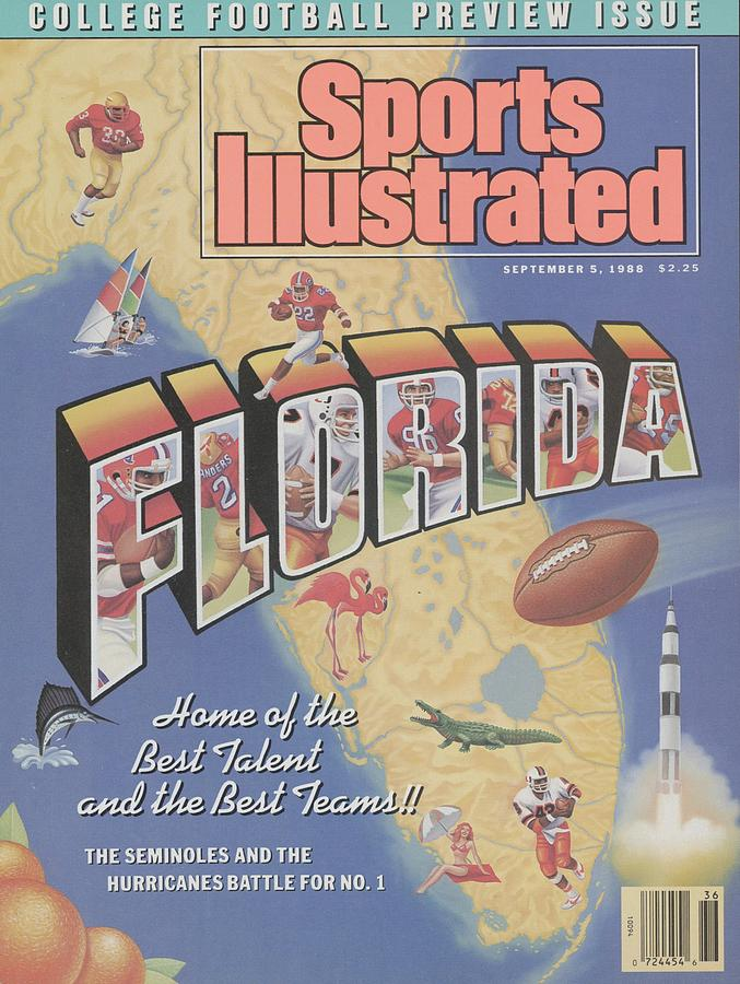 Florida Home Of The Best Talent And The Best Teams, 1988 Sports Illustrated Cover Photograph by Sports Illustrated