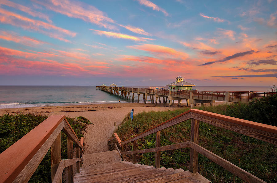 Florida Juno Pier by Juergen Roth