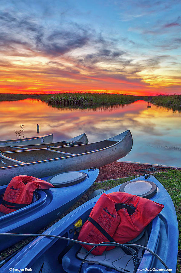 Florida Kayaking Outdoors Adventure by Juergen Roth