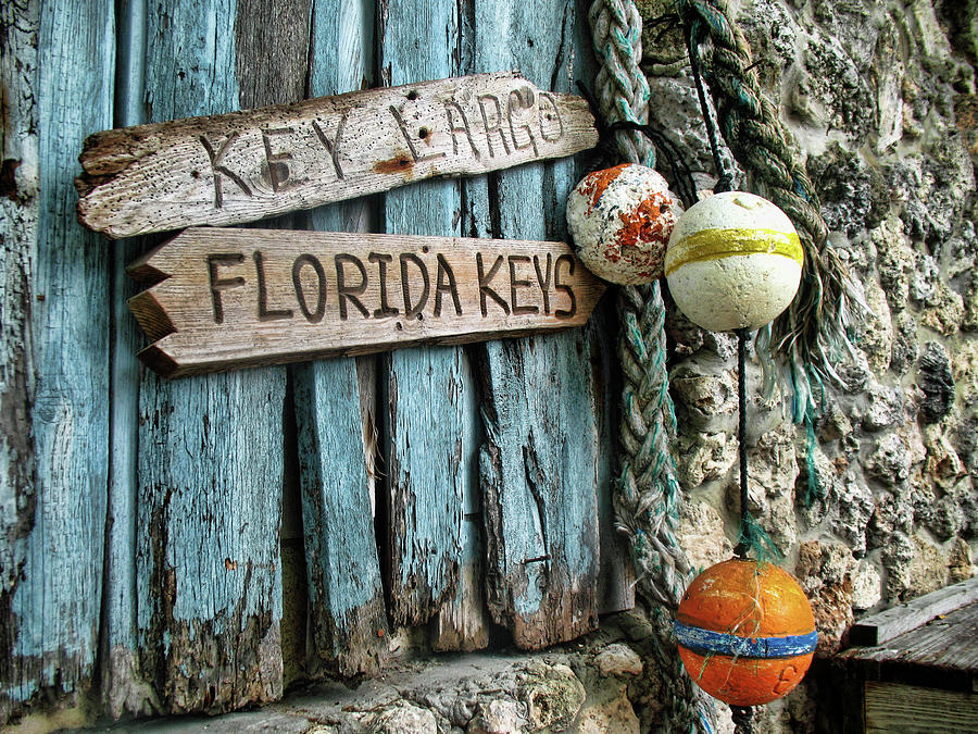 Florida Keys Card by Louise Lindsay