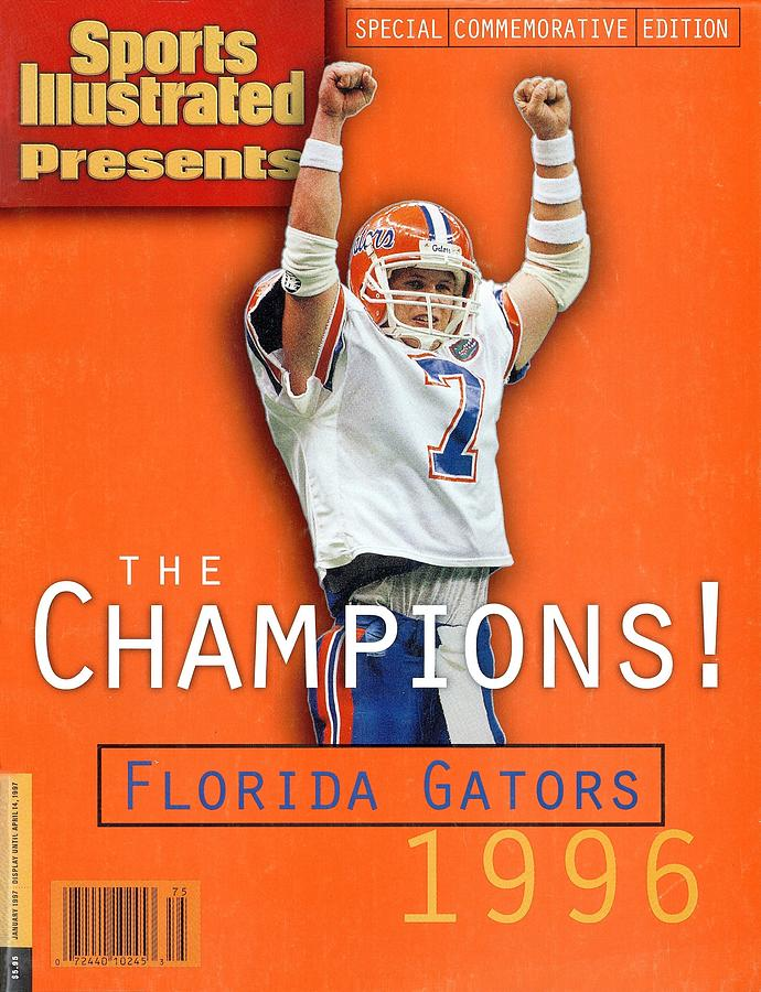 Florida Qb Danny Wuerffel, 1997 Sugar Bowl Sports Illustrated Cover Photograph by Sports Illustrated