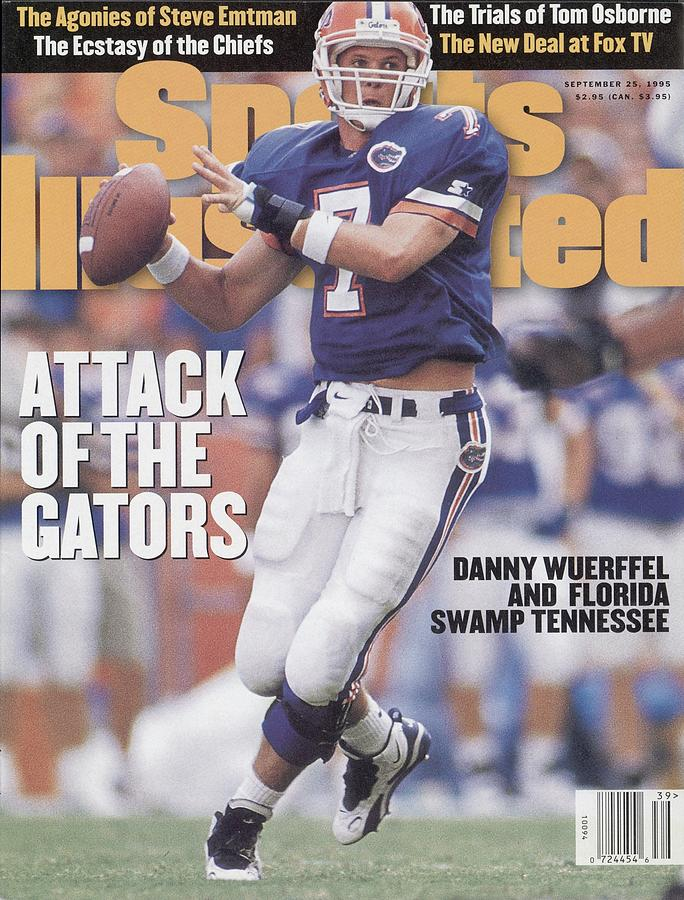 Florida Qb Danny Wuerffel... Sports Illustrated Cover Photograph by Sports Illustrated