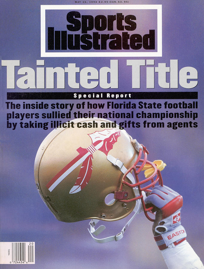 Florida State Football Scandal, Tainted Title Special Report Sports Illustrated Cover Photograph by Sports Illustrated