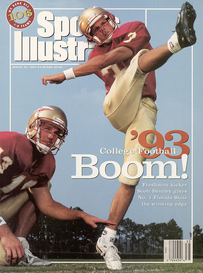Florida State University Scott Bentley And Danny Kanell Sports Illustrated Cover Photograph by Sports Illustrated