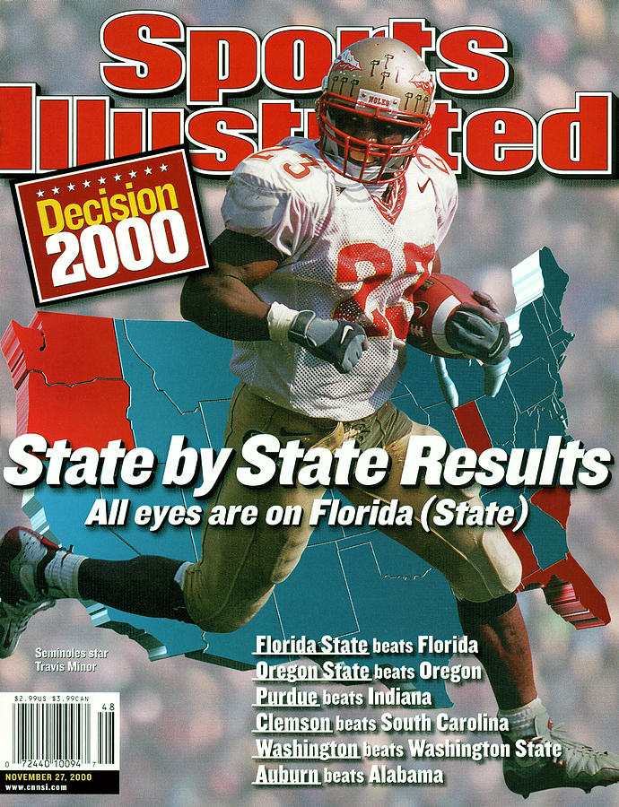 Florida State University Travis Minor Sports Illustrated Cover Photograph by Sports Illustrated