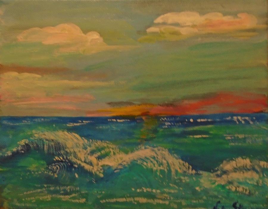 Florida Sunset Painting