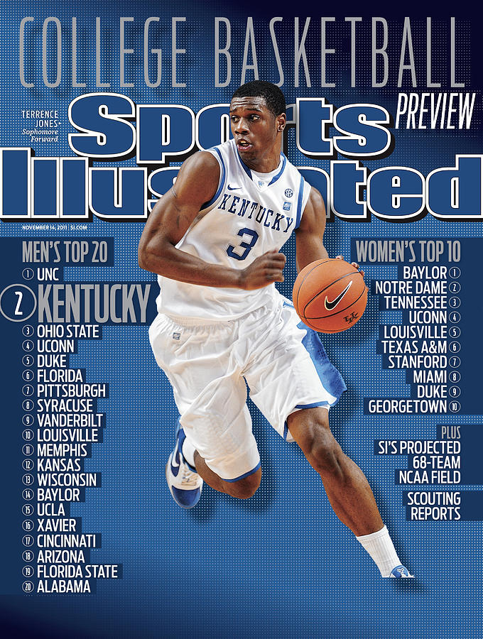 Florida V Kentucky Sports Illustrated Cover Photograph by Sports Illustrated