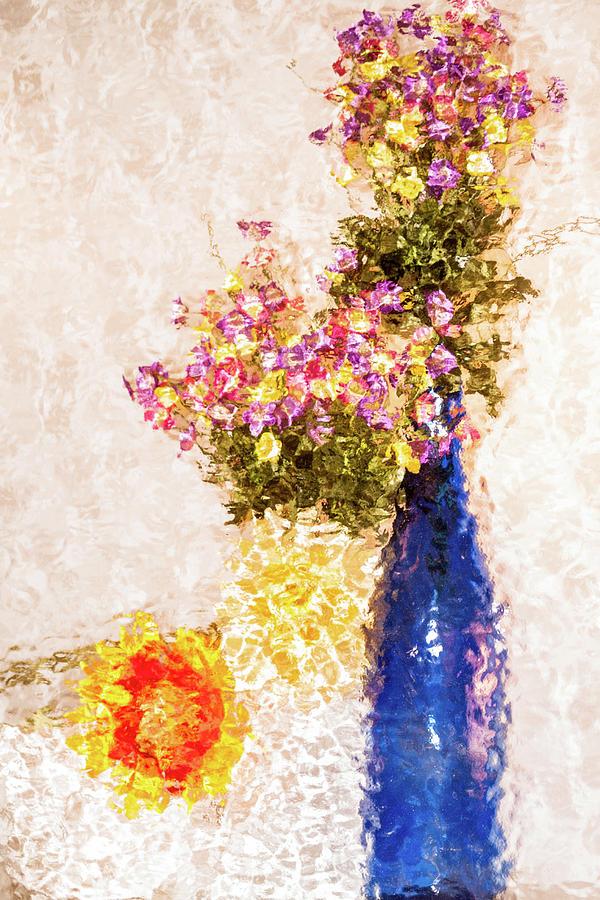 Flower arrangement by Stewart Helberg