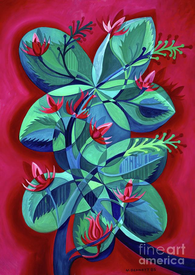 Flower Art Untitled by Manuel Bennett