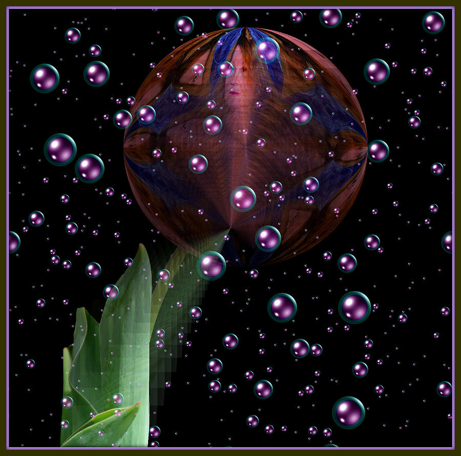 Flower Ball Digital Art