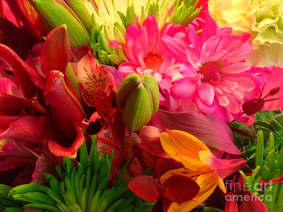 Flower Bunch by Christina Verdgeline