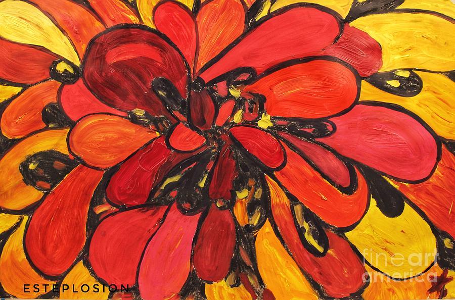 Flower Burst by EstePlosion Art