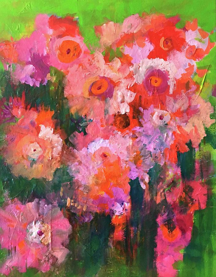 Flower Garden by Nancy Merkle