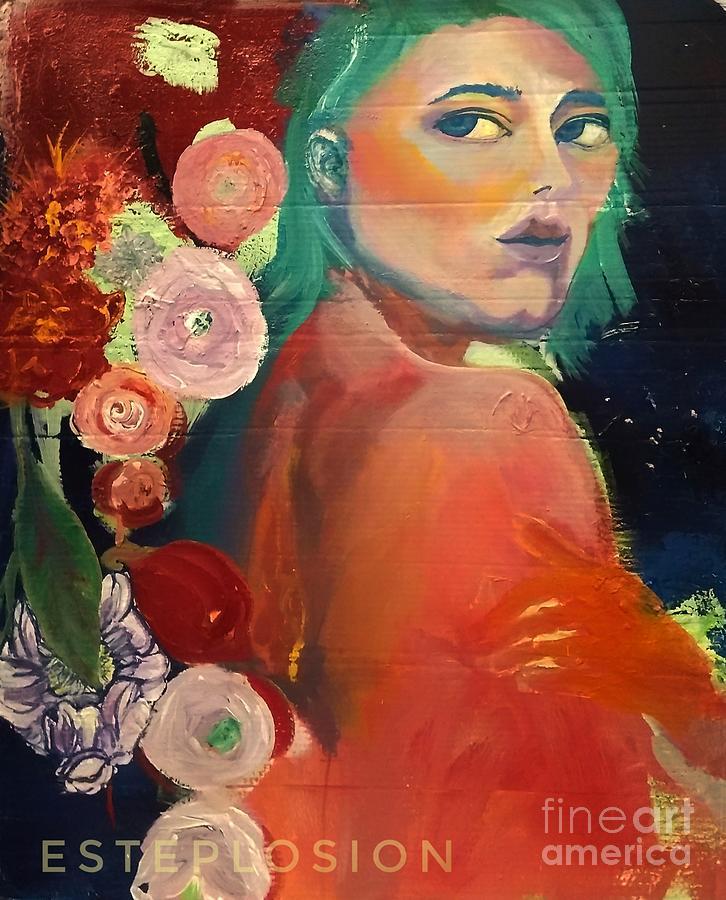 Flower Girl by EstePlosion Art