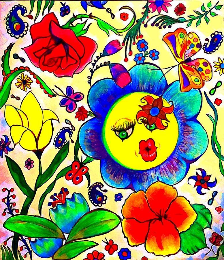Flower girl by Kim Raine Johnson