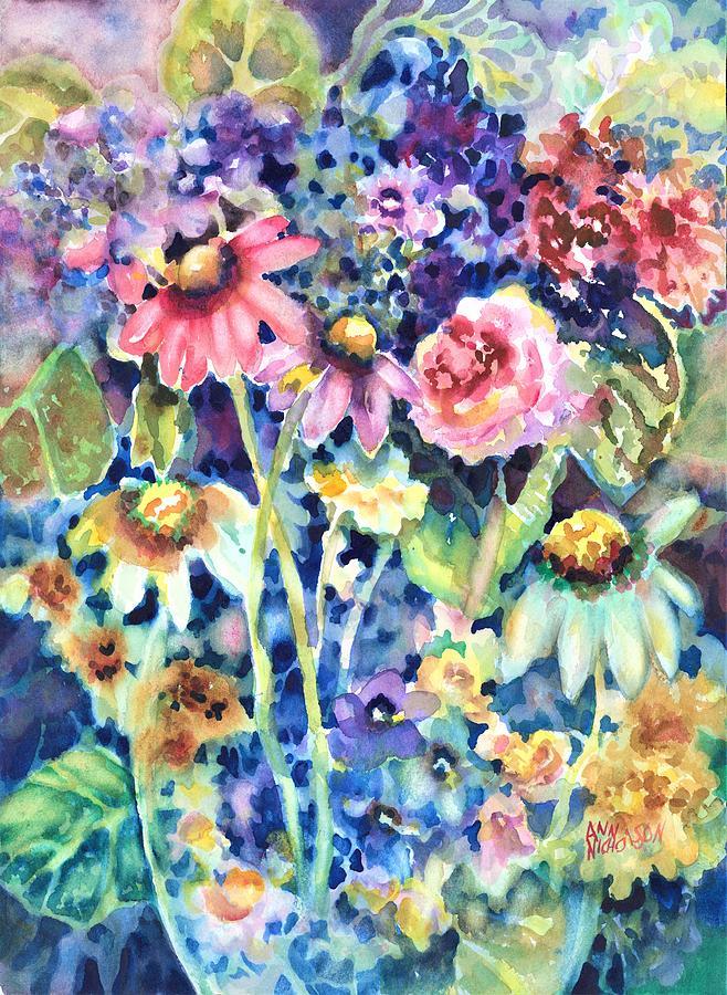 Flower Melange by Ann Nicholson