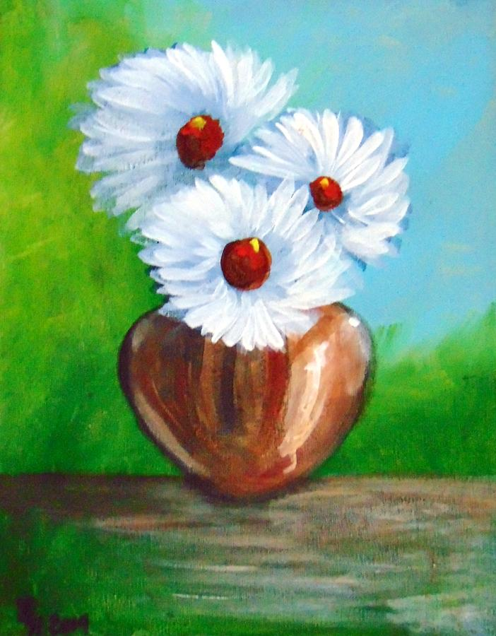 Flower Still Life 260 by Loretta Nash