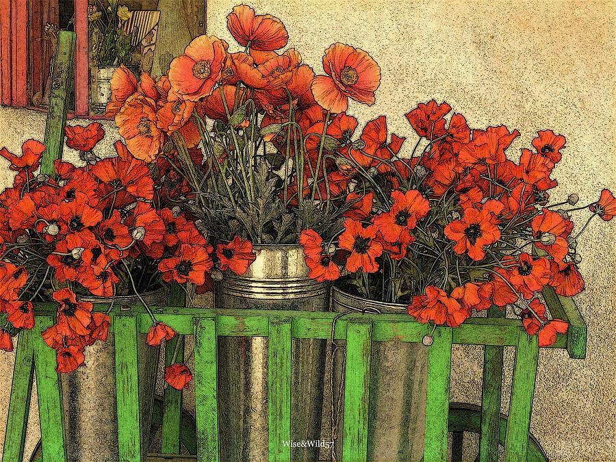 Flower Wagon by WiseWild57