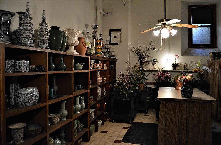 Flower Work Room by Warren Thompson