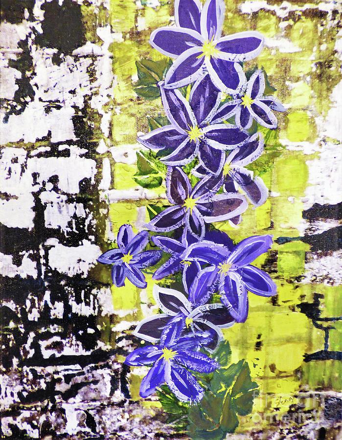 Flowering Vine 300 Painting