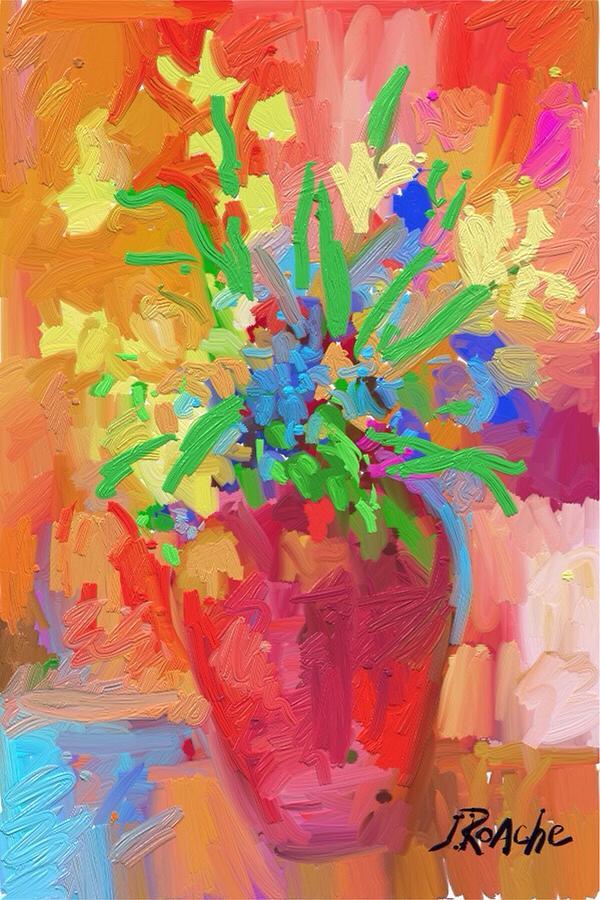 Flowers 1218 by Joe Roache