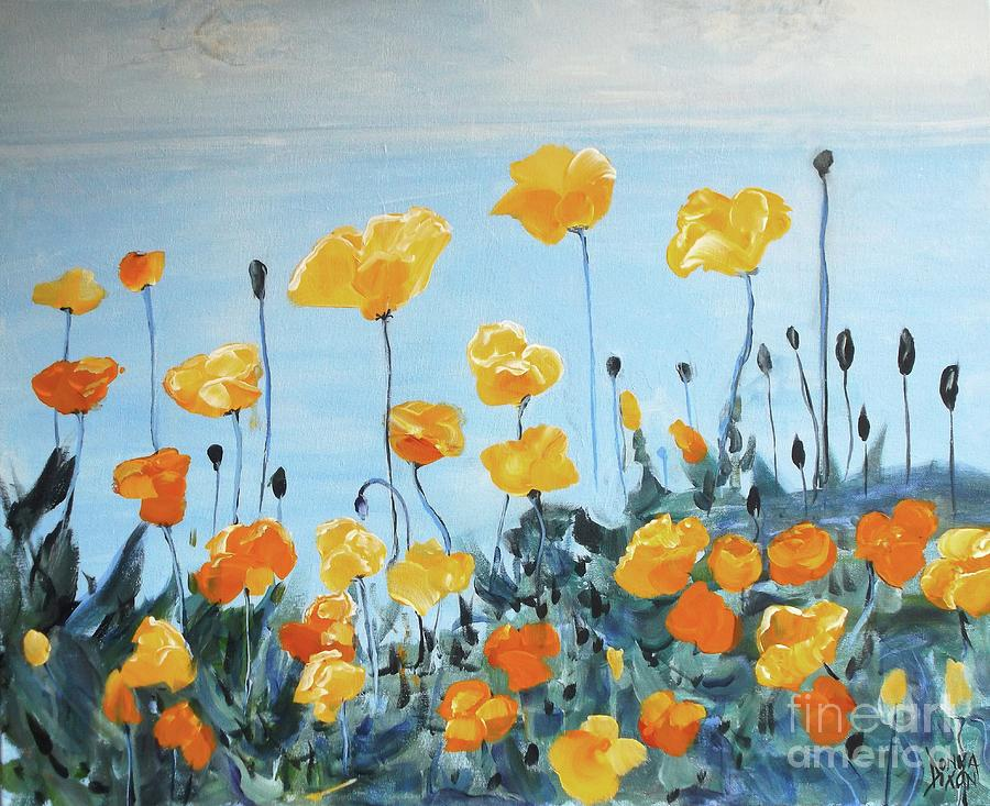Flowers By the Sea by Donna Dixon