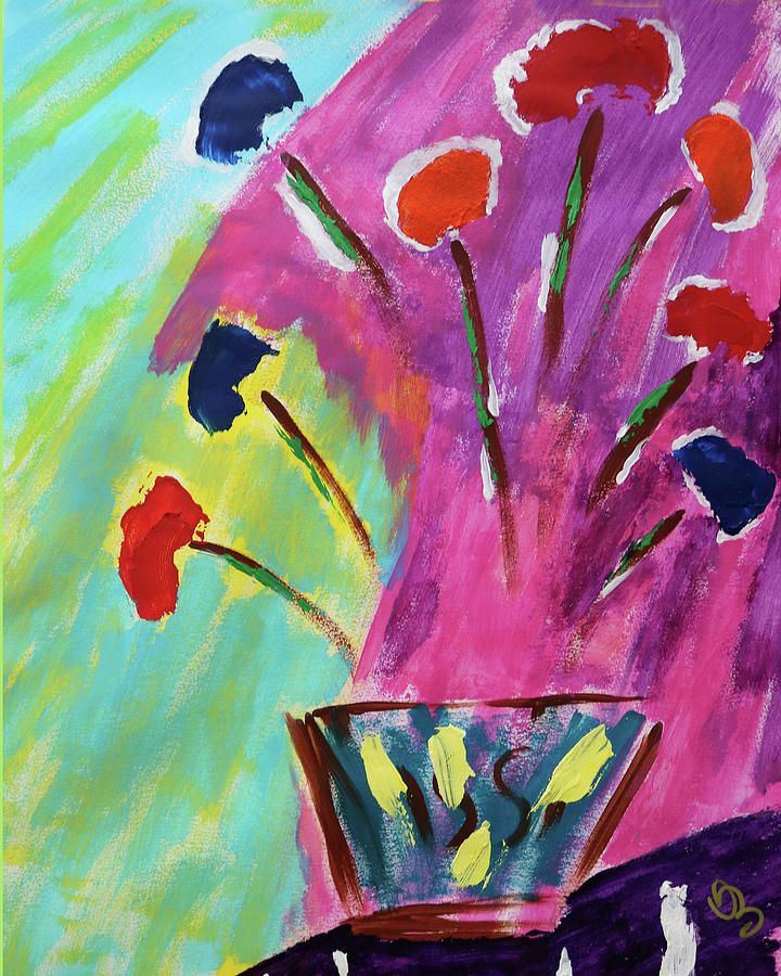 Flowers Gone Wild by Deborah Boyd