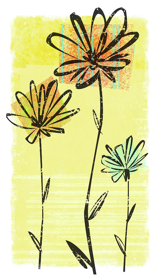 Flowers In Springtime Digital Art by Harry Briggs