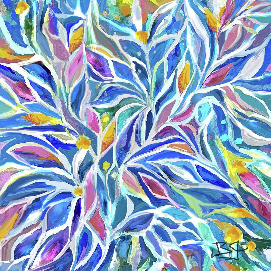 Flowers in the Wind by Jean Batzell Fitzgerald
