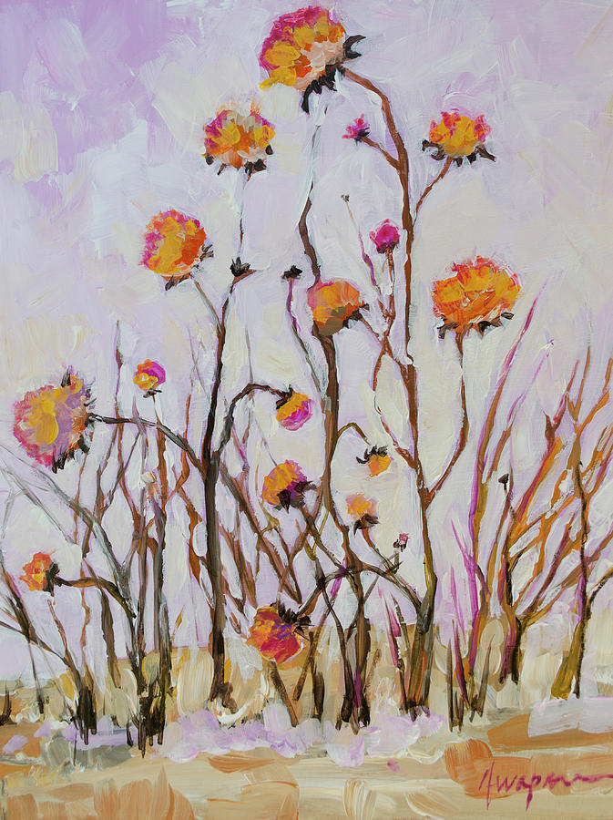Flowers in Winter by Patricia Awapara
